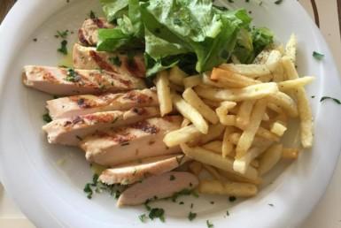 Φιλέτο στήθος κοτόπουλο στο Λακκαγκίνη στα Κιούρκα