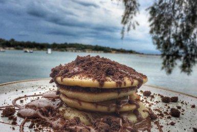 Nutella Pancakes στο Ark στη Γλυφάδα