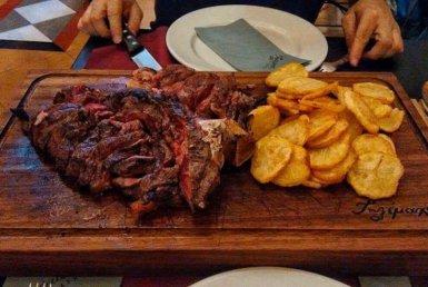 T-Bone steak Fassone Piemontese Tilemachos Athens